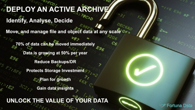 Active Tiered Storage Archive